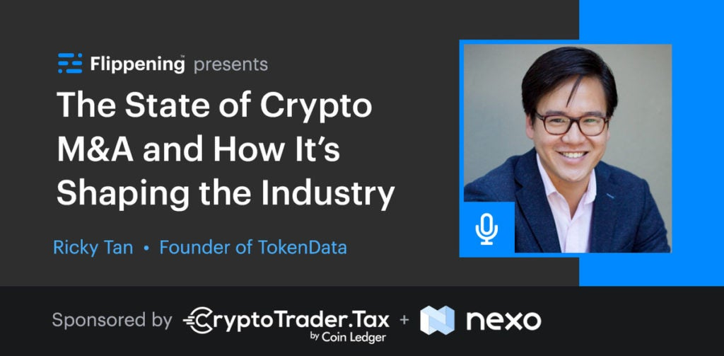 The State of Crypto M&A and How It's Shaping the Industry w/ Ricky Tan From Tokendata