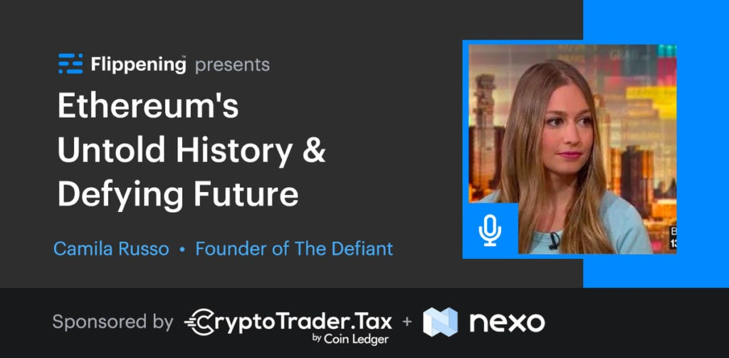 Ethereum's Untold History & Defying Future w/ Camila Russo From The Defiant