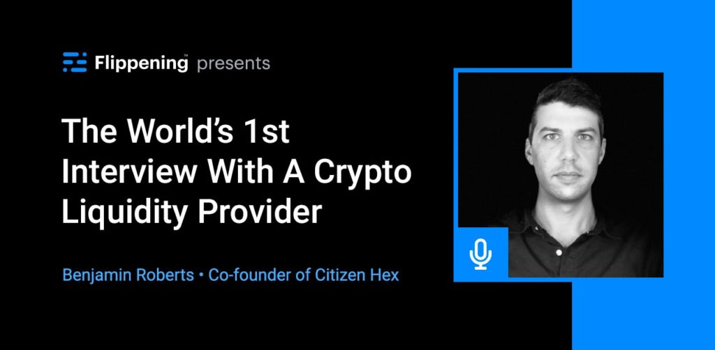 The World's 1st Interview With A Crypto Liquidity Provider
