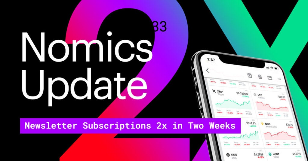 #33 – Newsletter Subscriptions 2x in Two Weeks + Our Consensus Talk
