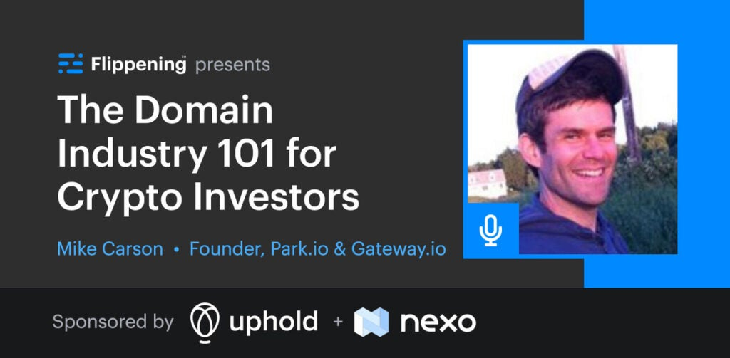 The Domain Industry 101 for Crypto Investors w/ Mike Carson of Park.io