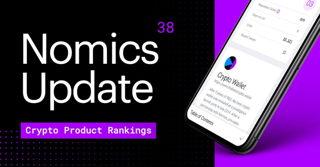 #38 – Crypto Product Rankings