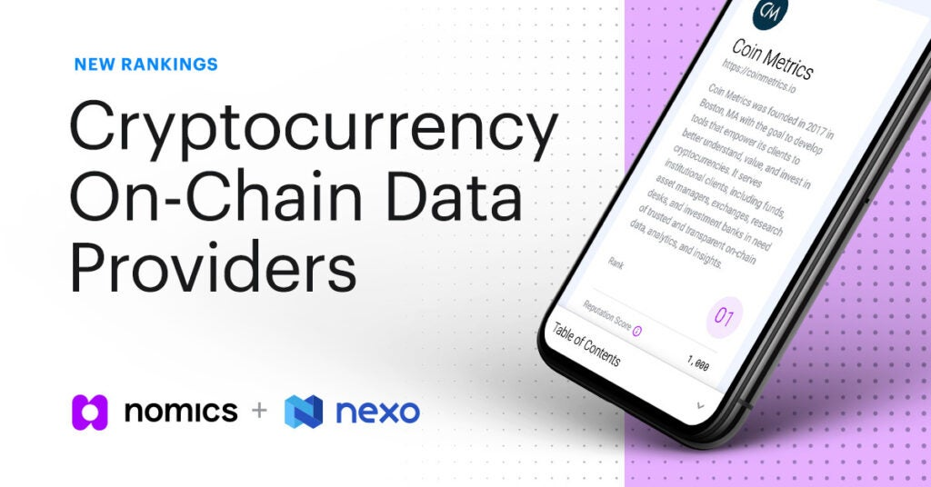 Ranking The Top Crypto On-Chain Data Providers of 2020