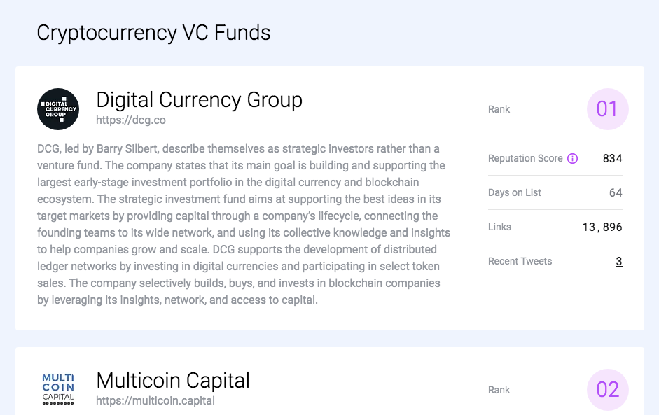 Dana Cryptocurrency VC