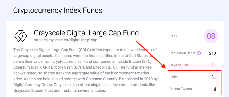 Links & tweets - crypto index funds