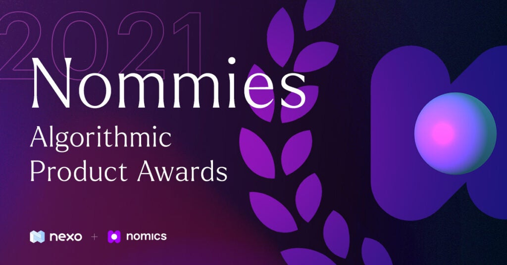The 2021 Nommies - Algorithmic Crypto Product Awards