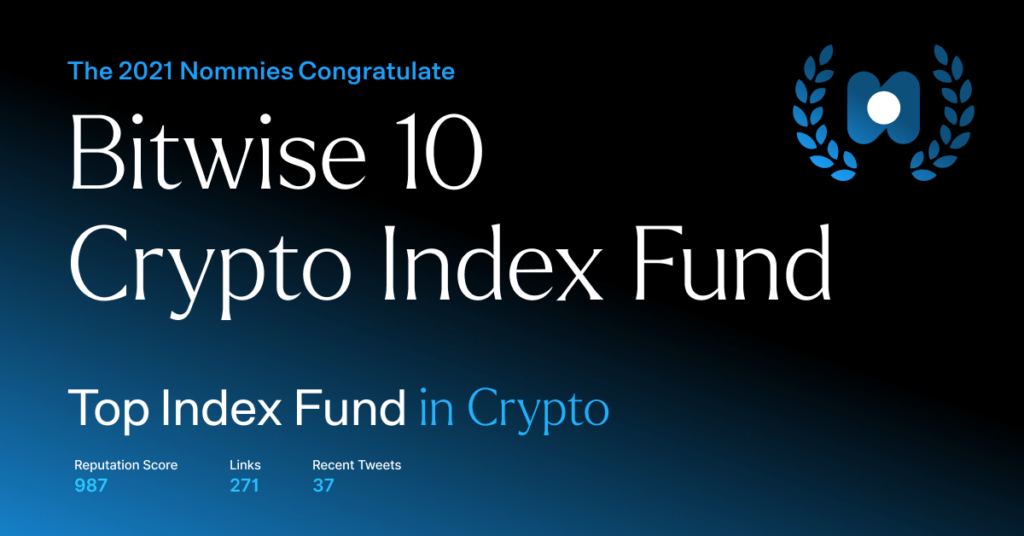 bitwise 10 - top index fund in crypto