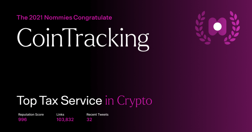 cointracking - top tax service in crypto