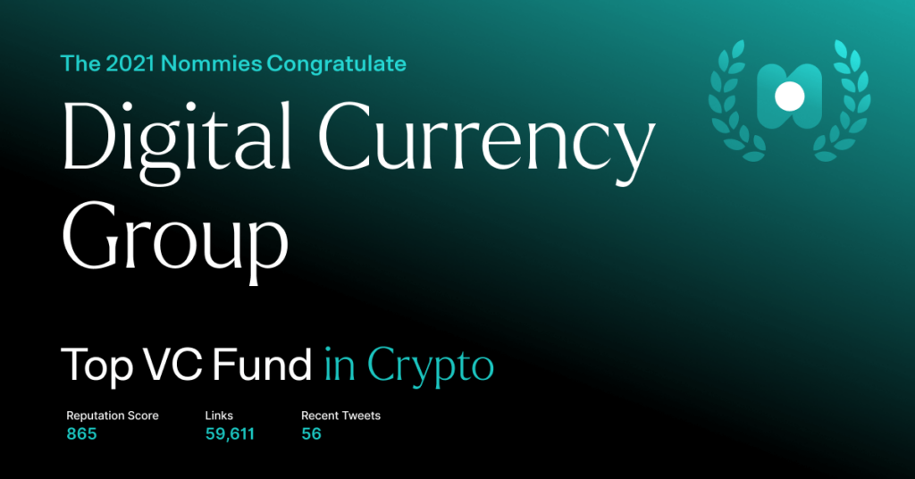 digital currency group - top vc fund in crypto