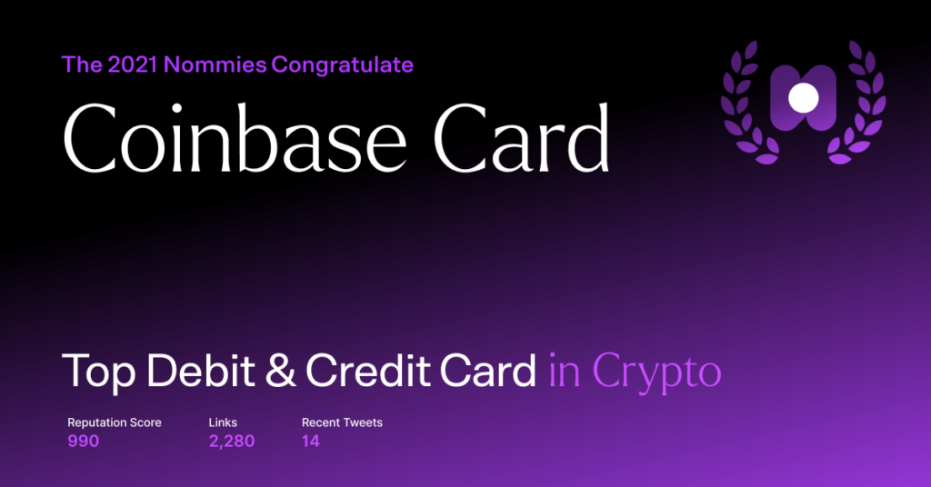 coinbase card - top debit and credit card in crypto